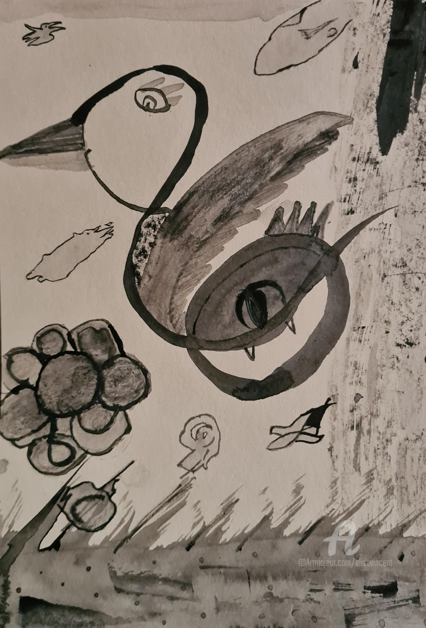 Elise Vincent - La Créature volante