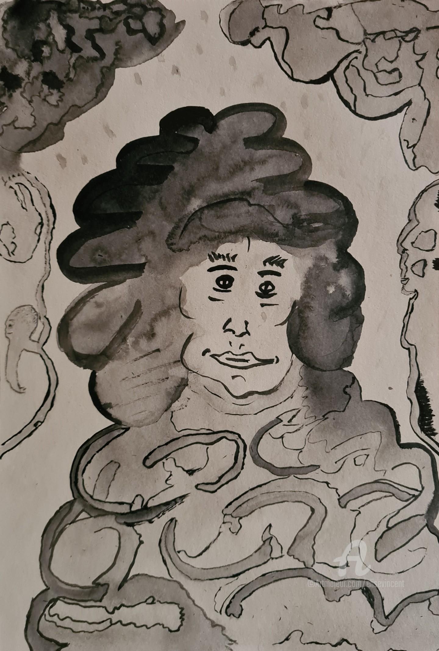 Elise Vincent - L'Homme nuage