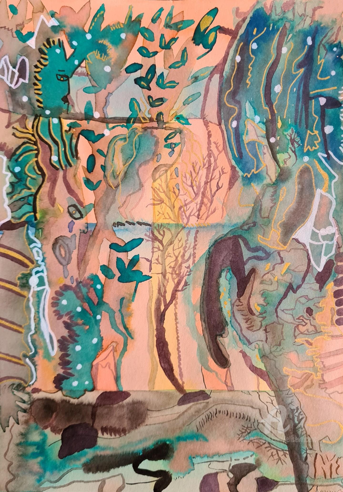 Elise Vincent - Devenir arbres