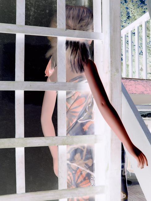 Elise Vincent - Marina regarde ce qui l'entoure,