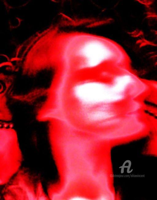 Elise Vincent - Autoportrait carmin